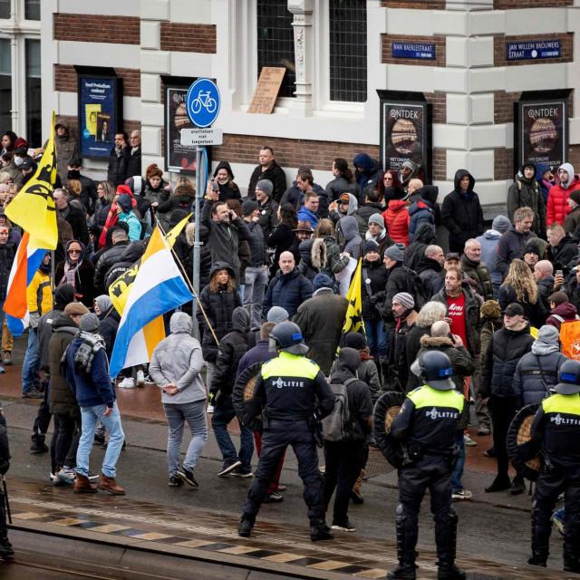 Prosvjed u Amsterdamu