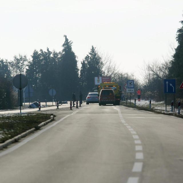Prometna nesreća na istočnom izlazu iz Osijeka