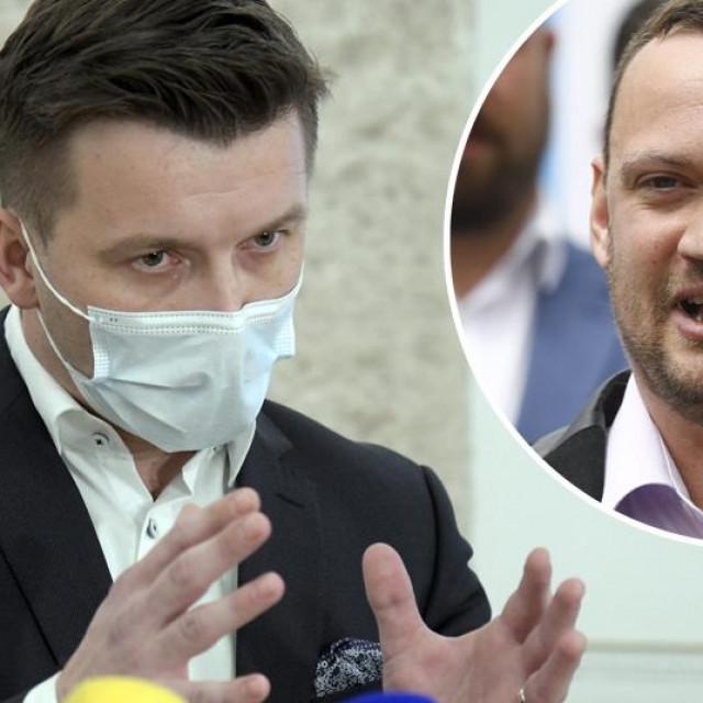 Žarko Tušek i Viktor Šimunić