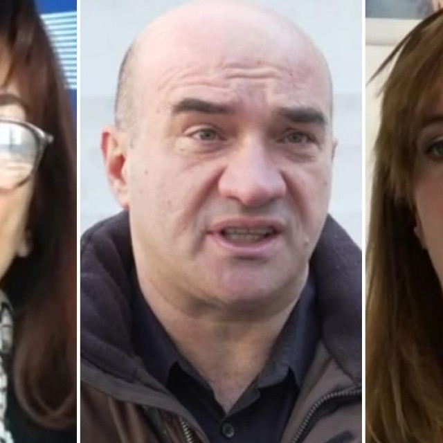 Dubravka Šuica, Gordan Lauc i Biljana Borzan