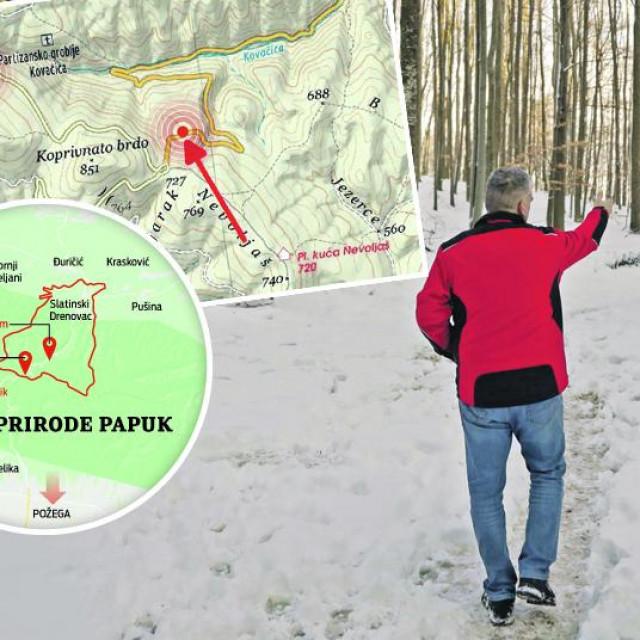 Na Jankovcu su pronađena dva smrznuta muška tijela