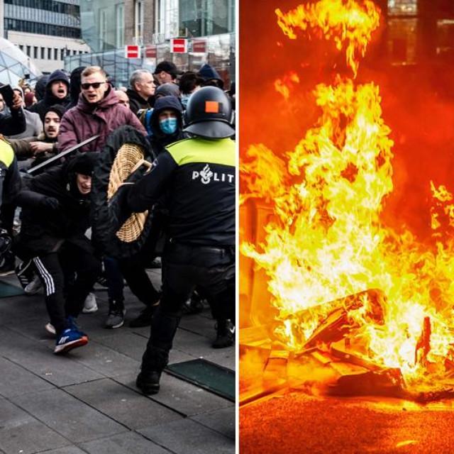 Prizori nereda u Nizozemskoj