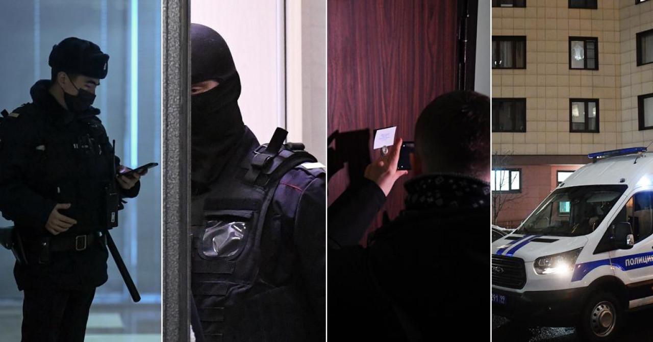 Policija upala u stan Alekseja Navaljnog, privela mu brata, nasrnula na ženinu odvjetnicu