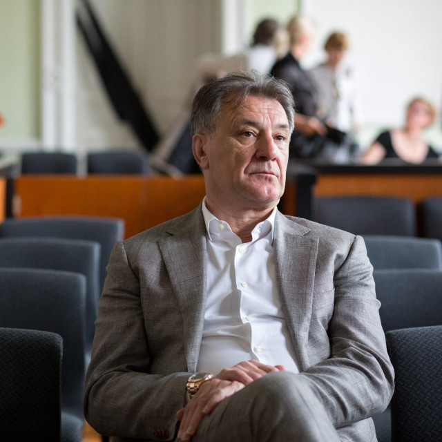 Zdravko Mamić, snimljen 2018. tijekom suđenja u Osijeku