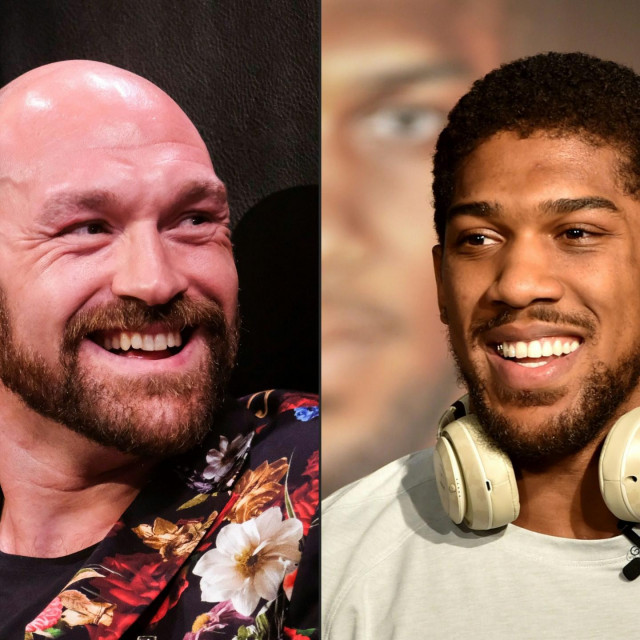 Tyson Fury i Anthony Joshua