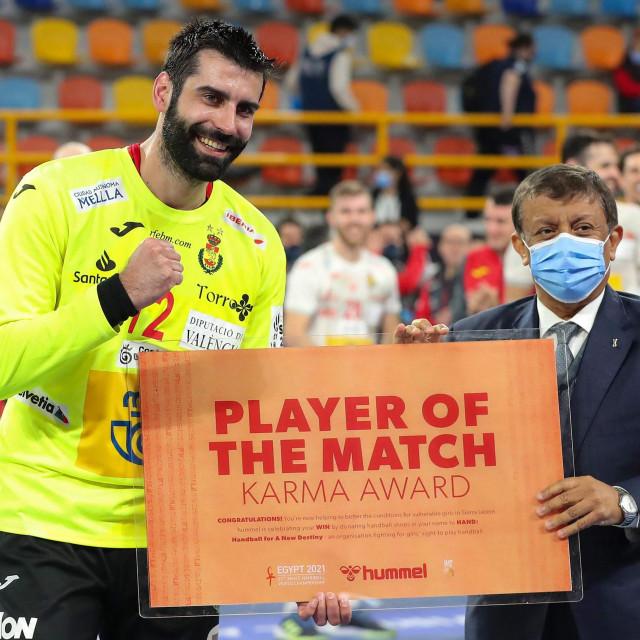 Španjolski vratar Rodrigo Corrales bio je daleko najbolji pojedinac protiv Norveške