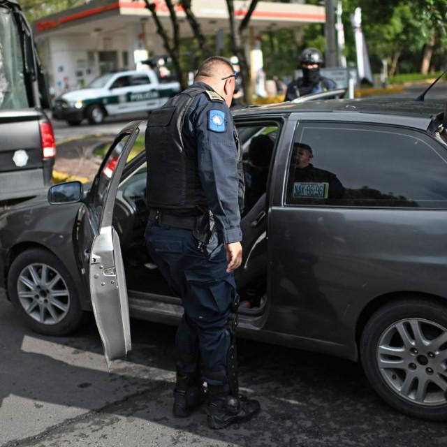 Meksička policija/Ilustracija