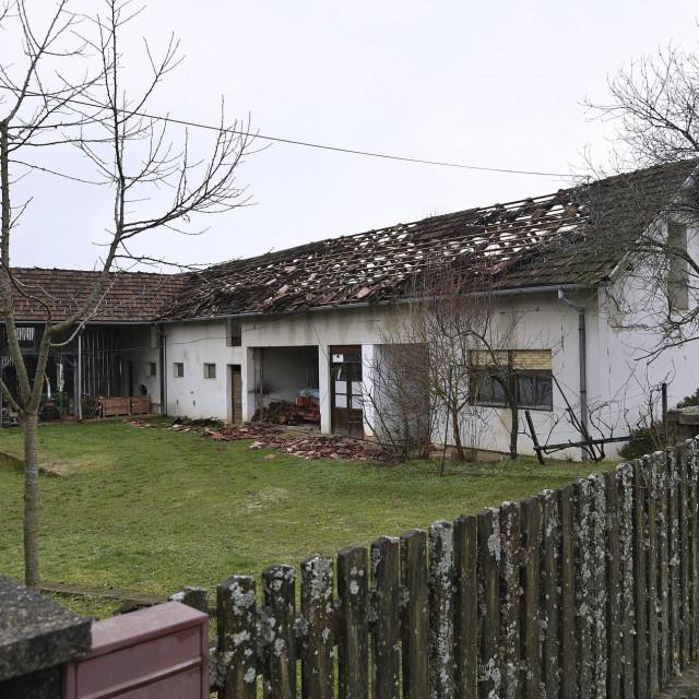 Srušene kuće u Donjoj Bačugi