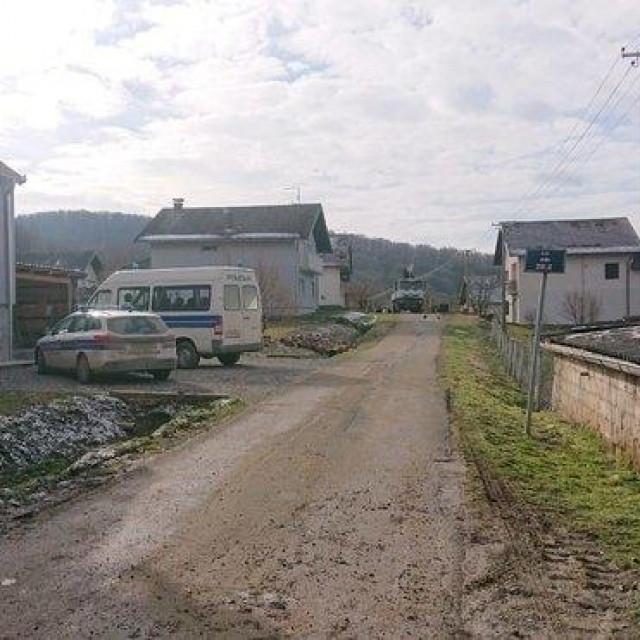 Ulica u kojoj je odjeknula ekplozija