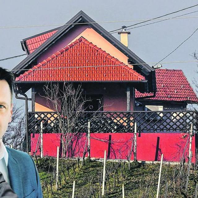 Klet u kojoj su se sastali Viktor Šimunić, Žarko Tušek iEmil Gredičak