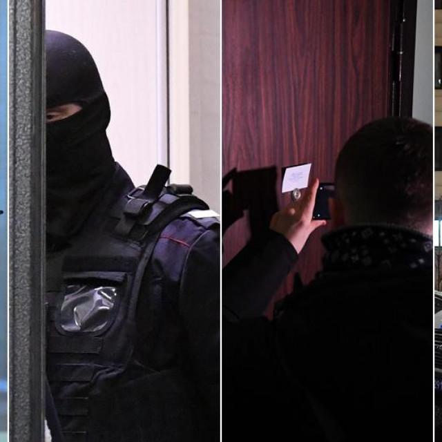 Policija pred stanom Alekseja Navaljnog