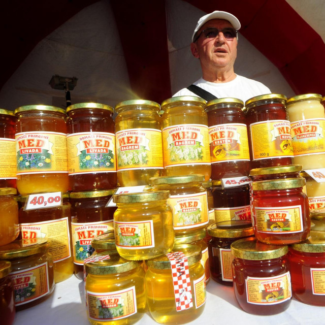Ilustracija: prodaja meda