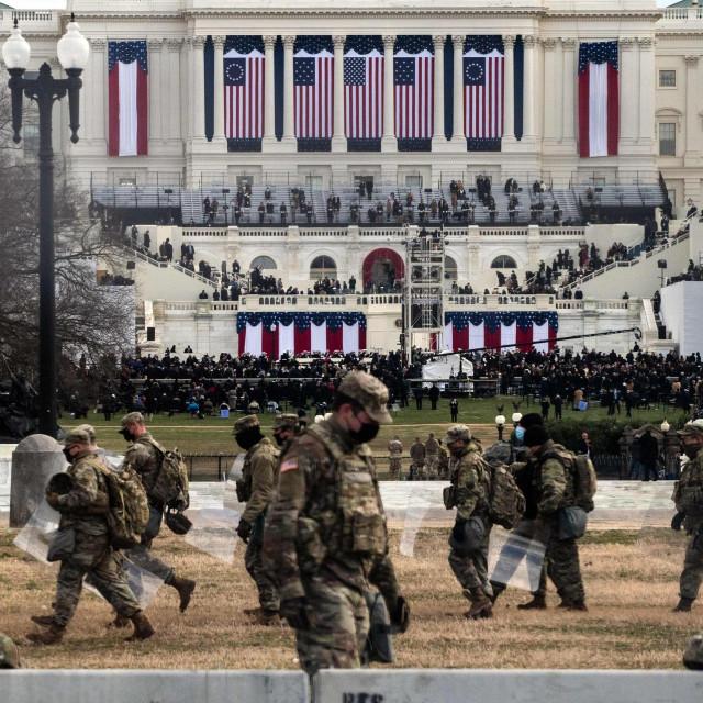 Nacionalna garda na Kapitolu