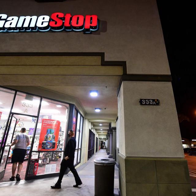 Dućan GameStopa