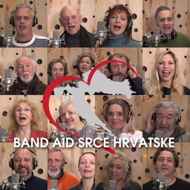 Band Aid 'Srce Hrvatske'