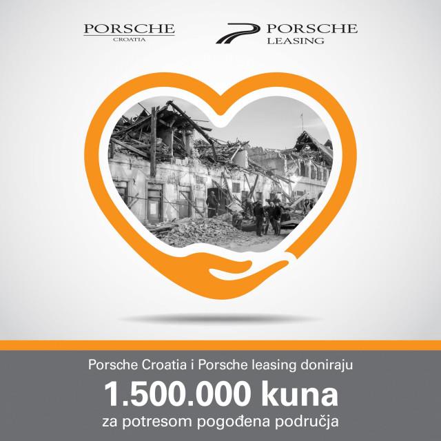 porsche donacija