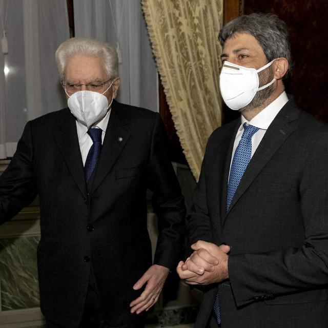 Sergio Mattarella i Roberto Fico