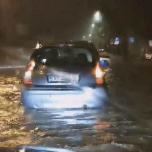 Poplava u Dubrovniku