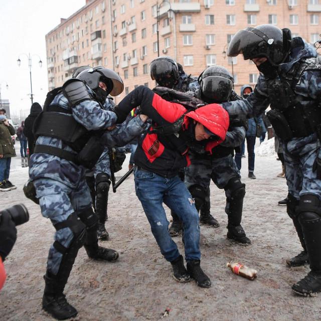 Prosvjedi diljem Rusije