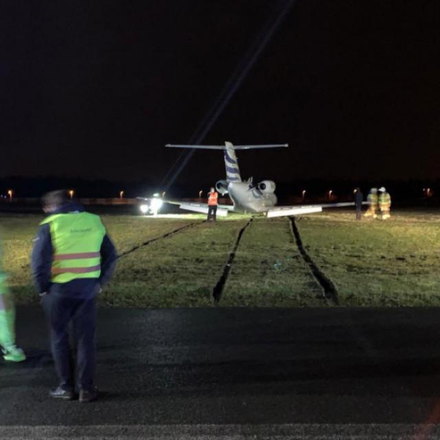 Nezgoda zrakoplova hrvatskog avioprijevoznika