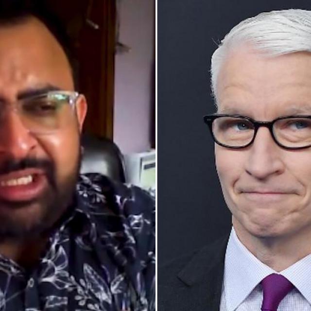 Jitarth Jadeja i Anderson Cooper