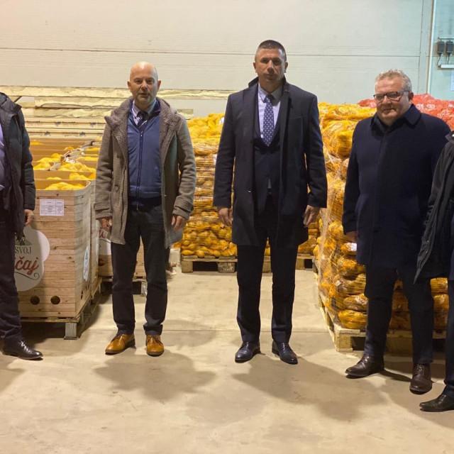 Proizvođači krumpira s Ivicom Pirićem i Tugomirom Majdakom