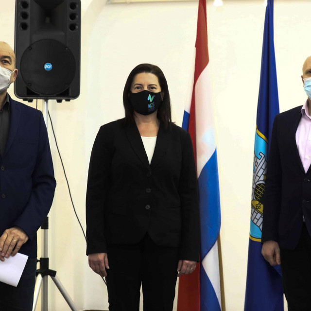 ihomir Milovac, Marijana Sumpor, Renato Petek