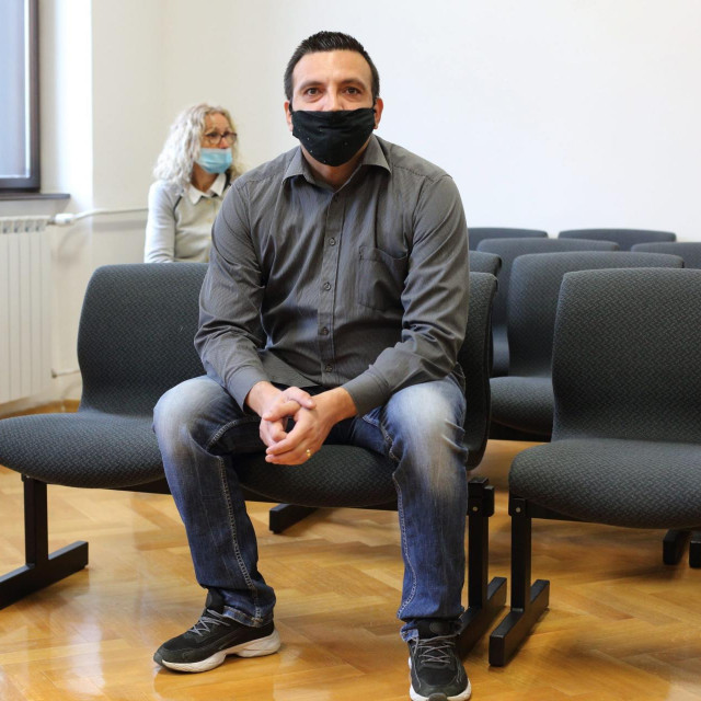 Franjo Varga u sudnici.<br /> <br /> <br /> <br /> <br />