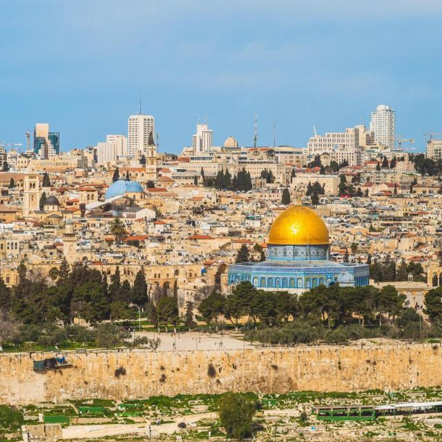 Jeruzalem, panorama