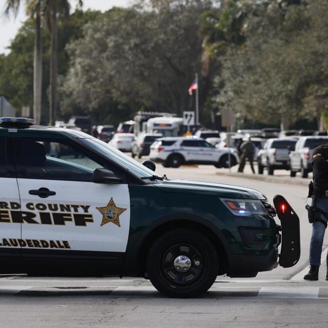 Mjesto pucnjave na Floridi