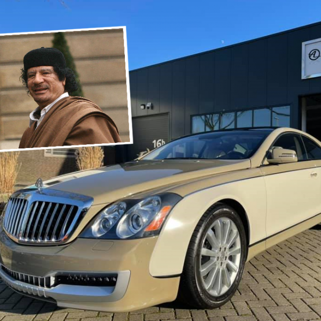 Gadafijev Maybach Coupe na prodaju