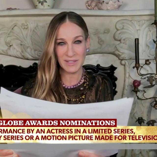 Sarah Jessica Parker čita nominacije