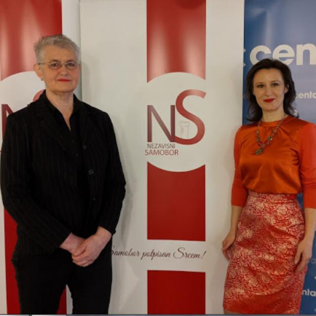 Irena Franceković i Dalija Orešković