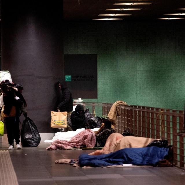 Beskućnici, ilustracija