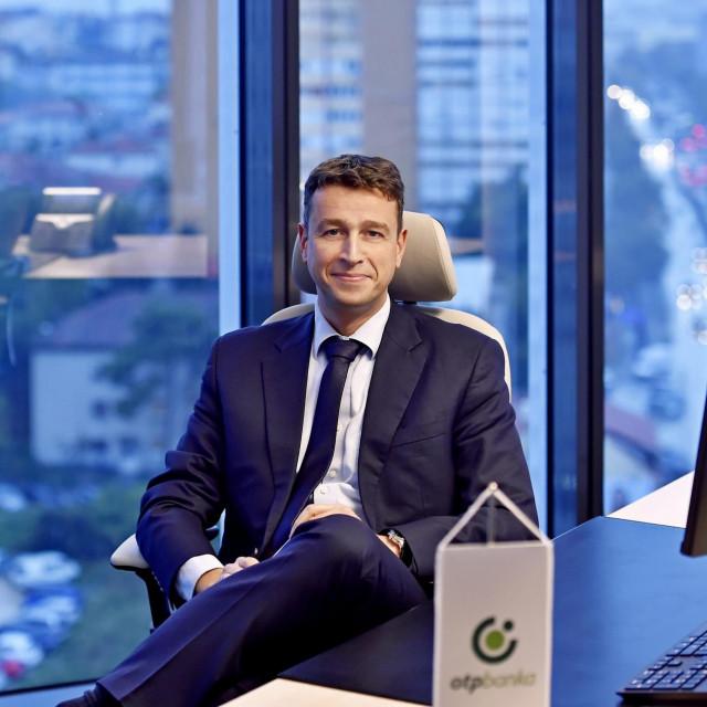 Predsjednik Uprave OTP banke Balázs Békeffy