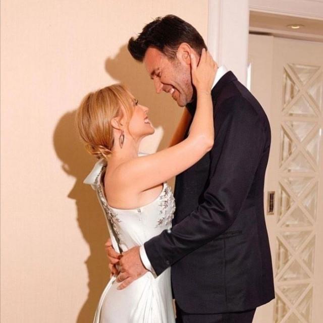 Kylie Minogue i Paul Solomons