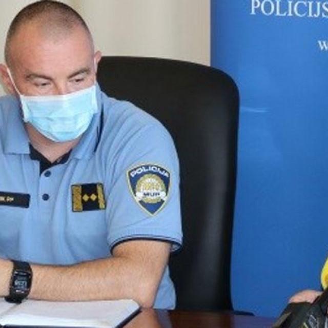 Darko Željković, načelnik Policijske postaje Karlovac