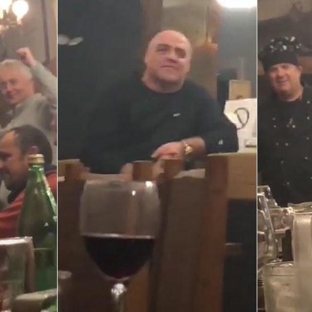 Željko Kerum i suci na proslavi
