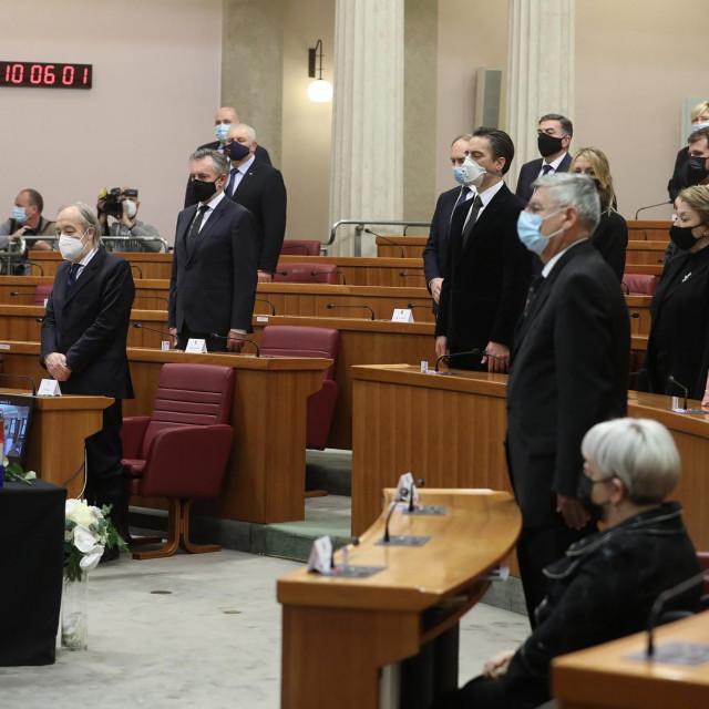 Komemoracija u spomen na saborskog zastupnika Miroslava Tuđmana