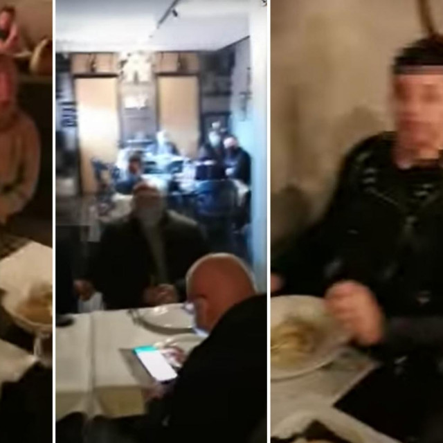 Racija u restoranu