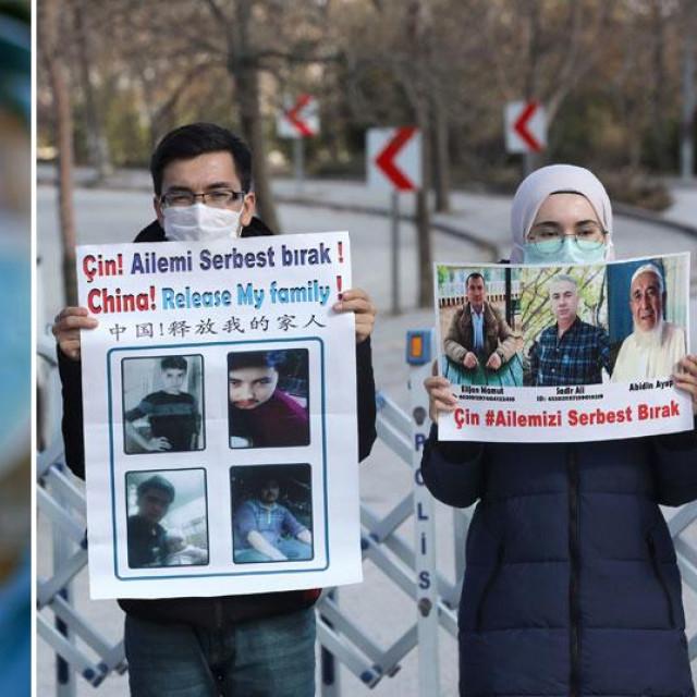 Cjepivo i prosvjedi Ujgura u Turskoj