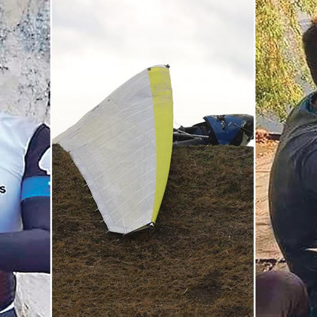 Matija Kovačević iz Čakovca živio je za bicikliranje i nema fotografije na kojoj se ne smije (slika lijevo); Mario Vuković je upravljao letjelicom, a fascinirao ga je let iznad vode (slika desno)