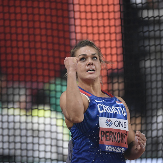 Sandra Perković ima visoke ambicije ove sezone