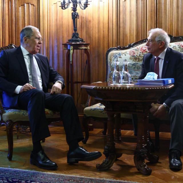 Sergej Lavrov i Josep Borrell