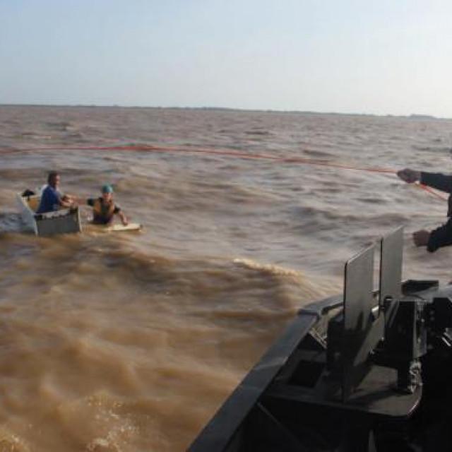 Spašavanje ribara u Amazoni