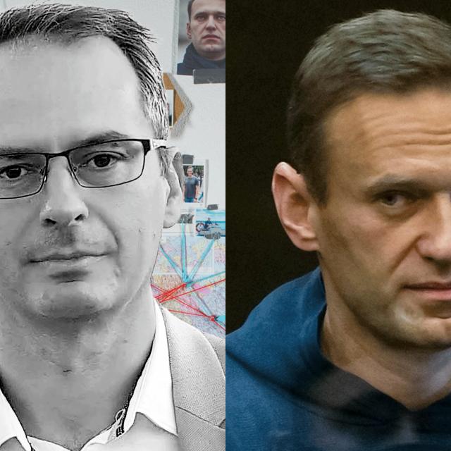 Christo Grozev i Aleksej Navaljni