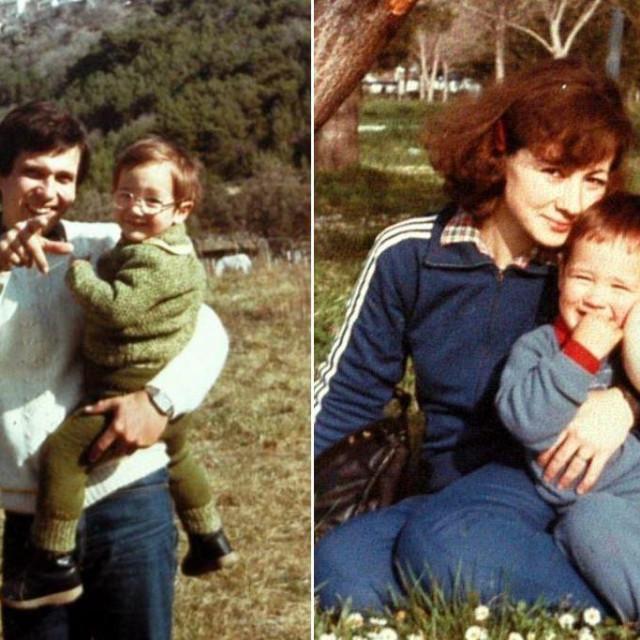 Vesna i Đorđe Gašparević s djecom