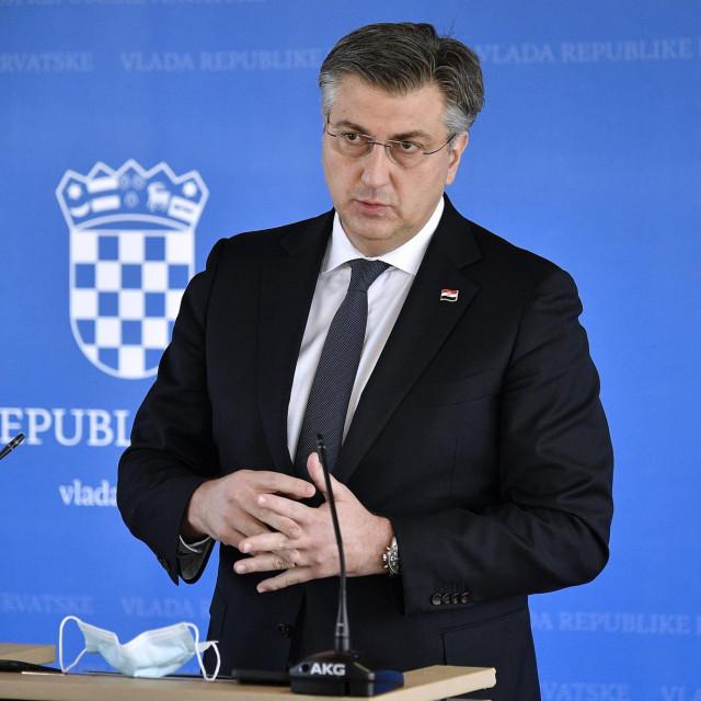 Predsjednik Vlade Andrej Plenković