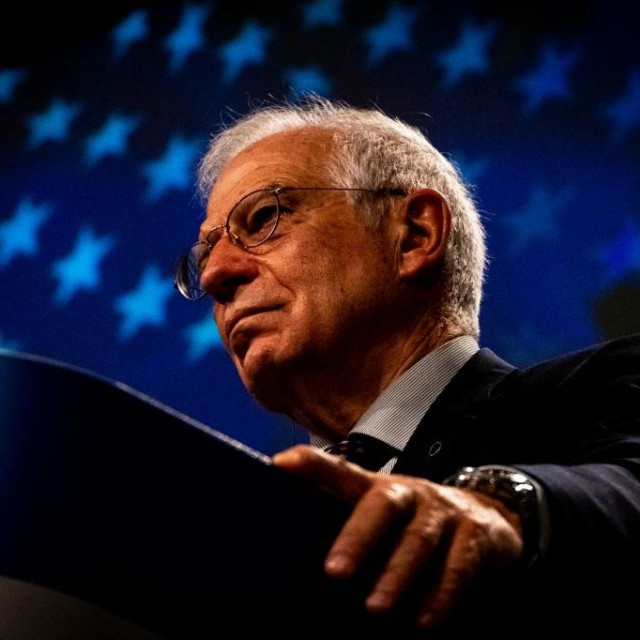 Kao iskusni diplomat Borrell (na slici) si nije smio dozvoliti da se nađe u takvoj situaciji