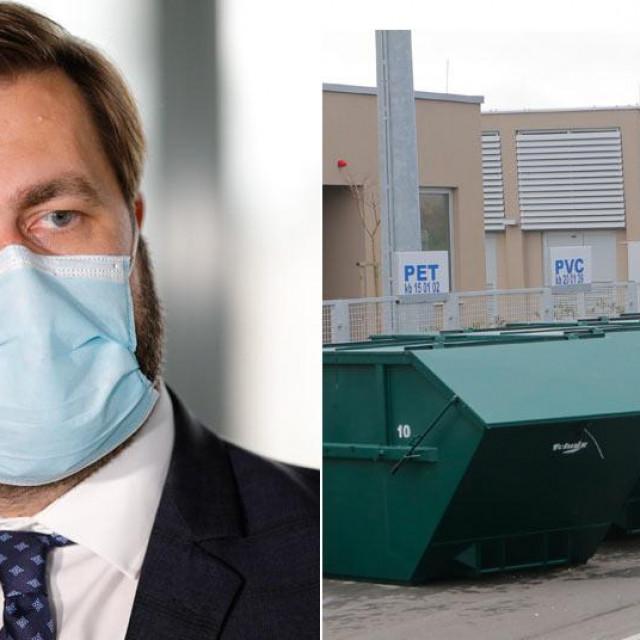 Tomislav Ćorić; Županijski centar za gospodarenje otpadom